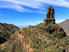 Spain, Canarias, Gran Canaria, Roque Nublo