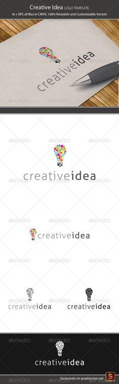 Creative Idea, abstract, agency, art, artistic, brain, brainstorm, bulb, colorfull, corporate, creative, design, designer, developer, fresh, idea, illustrator, light, logo, logotype, mind, mosaic, studio, web, yellow