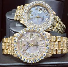 Rolex and diamonds