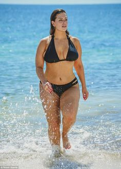 Go classic in a black bikini like Ashley's #DailyMail  Click 'Visit' to buy now