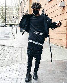 ♥♥ Fashion Moda, 90s Fashion, Urban Fashion, Fashion Outfits, Streetwear Mode, Streetwear Fashion, Dark Fashion, Winter Fashion, Looks Pinterest
