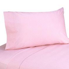 Mod Dots Sheet Set - Pink ... twin sheets option