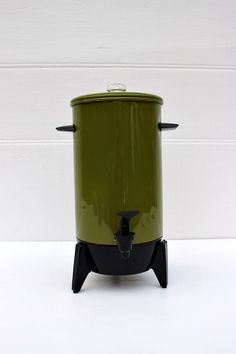 avocado percolator - We had this exact color and model in the 70's.