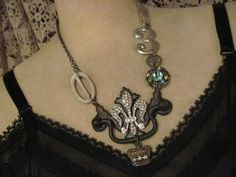 This crafter makes the most awesome necklaces.