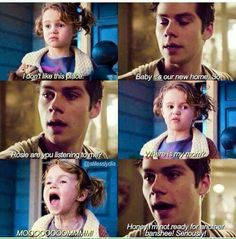 I don't ship stydia but this was just too funny
