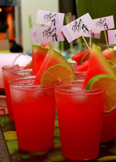 """LOVE Dirty Dancing. """"I carried a watermelon"""" cocktail!"""
