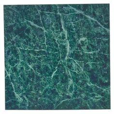 Kakeldekor MARBLE grön