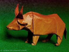 John Montroll Origami Ox | Flickr - Photo Sharing!