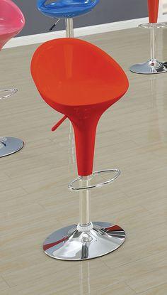 red short back stool w no p2 concern arne jacobsen style alpha shell egg