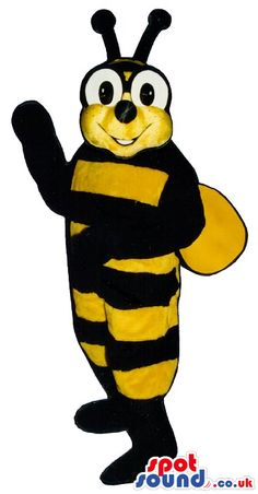 #bee #mascots from #spotsound_uk -Discover all our #bees #mascots #costumes for your marketing events on : http://www.spotsound.co.uk/96-mascots-bee - 7 sizes available with fast shipping over the world ! We can also customize your future #bee #mascot ! Visit us ;)