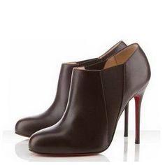 Christian Louboutin Lastoto 100Mm Ankle Boots Cacao-181