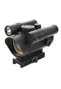 Ncstar Vism Red Dot Sight Built-In Green Laser-Led Flashlight - Wholesale