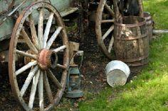 Good image w/ wagon wheels