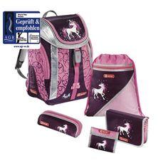9e967a9036030 DerDieDas Schulrucksack ErgoFlex XL Cherry Blossom - Set 5 tlg. + ...