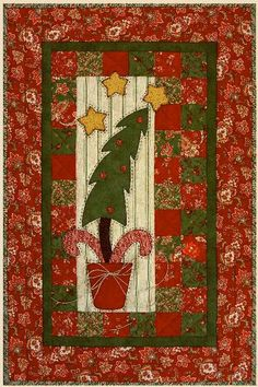 ~ Crooked Little Tree Wall Quilt
