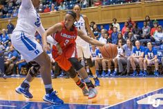 The @LibertyWBB team plays Duke tonight! #GoFlames (photo by @mitchellbryant)