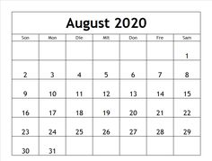Kalender August, Accounting