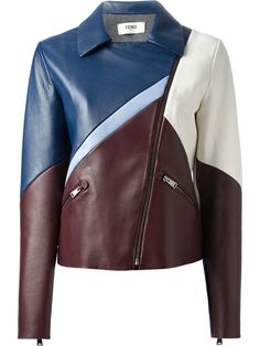 Shop women's leather jackets online now at Farfetch. Find women's designer leather jackets from luxury brands at top boutiques. Colorful Leather Jacket, Short Leather Jacket, Leather Jackets Online, Designer Leather Jackets, Coat Pattern Sewing, Jackets For Women, Clothes For Women, Celebrity Look, Piece Of Clothing