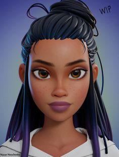"""Wip Character for 's short film"" 3d Model Character, Character Design Animation, Female Character Design, Character Modeling, Character Design Inspiration, Character Art, 3d Modeling, 3d Animation, Character Concept"