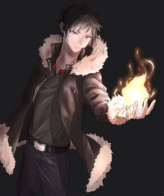Now observe while Izaya contemplates setting fire to Ikebukuro