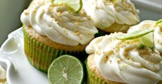 The Nifty Cupcake: Key Lime Pie Cupcakes. Just used my regular vanilla cupcake recipe. Like instead of key lime. Turned out pretty tasty! Cupcake Recipes, Cupcake Cakes, Owl Cupcakes, Dessert Recipes, Key Lime No Bake, Quick Recipes, Cooking Recipes, Key Lime Cupcakes, Best Key Lime Pie