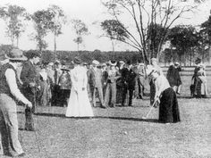 Women donned their sporting caps and get-ups (apparently dresses in those days) for the first time at an international sporting event in Paris in 1900, with Charlotte Cooper being crowned the first female Olympic champion. 1000 competitors took part in 19 sports at these Games, which was held during the 1900 World's Fair.
