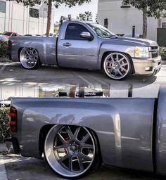 09 Chevy Silverado, Silverado Single Cab, Single Cab Trucks, C10 Chevy Truck, Chevy Pickups, Chevrolet Trucks, Lowered Trucks, Gm Trucks, Pickup Trucks