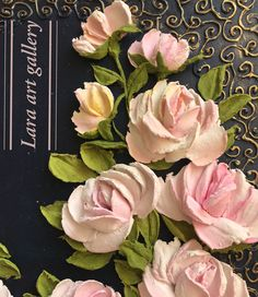 На данном изображении может находиться: цветок и растение Plaster Art, Sculpture Painting, Decoupage Paper, Clay Crafts, Paper Mache, Clay Jewelry, Bonsai, Floral Wreath, Art Gallery