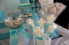 """Photo 14 of 30: Tiffany's Party / First Communion """"Tiffany's 1st Communion Reception"""" 