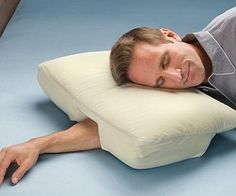 Great site for unique gifts like this Better Sleep Pillow. Wide range of prices so it's good for a white elephant gift too that they'll actually use. Genius-Gadgets.com