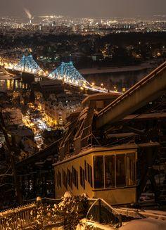 Das Blaue Wunder Dresden (Loschwitzer Brücke), entstanden von der Bergstation der Schwebebahn besucht mich auf https://www.facebook.com/MDPicFotogr...