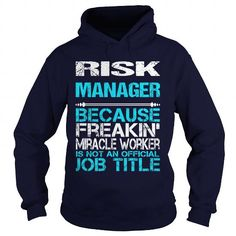 RISK MANAGER Only Because Freaking Awesome Is Not An Official Job Title T Shirts, Hoodies, Sweatshirts. CHECK PRICE ==► https://www.sunfrog.com/LifeStyle/RISK-MANAGER-FREAKIN-Navy-Blue-Hoodie.html?41382