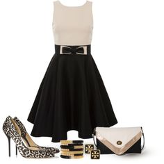 A fashion look from April 2013 featuring Kate Fearnley dresses, Gucci pumps and Forever 21 clutches. Browse and shop related looks.