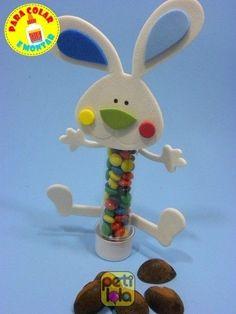 24 cabeças coelhos e bracinho de Eva - SEM TUBETE para colar e montar