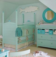beautiful beach themed nursery design