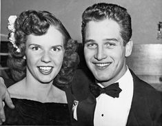 Jacqueline Witte & Paul Newman, his first wife, 1949 to divorced to marry Joanne Woodward. They had three children.They were married 9 yrs, he divorced her to marry Joanne Woodward Jean Simmons, William Faulkner, Tennessee Williams, Odd Couples, Famous Couples, Joan Collins, Steve Mcqueen, Celebrity Couples, Celebrity Weddings