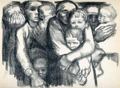 Kathe Kollwitz, The Mothers (1919)