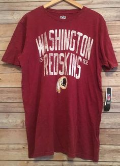 NEW Washington Redskins EST 1932 NFL Team Shirt Football Large  fa2bbbe4d
