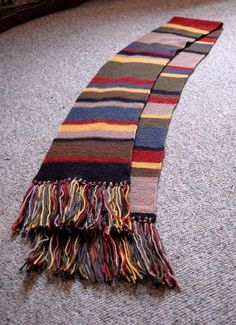 Dr. Who Scarf - all seasons- Doctor who