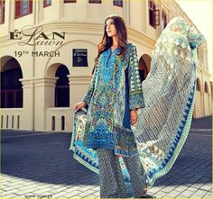 Elan Lawn Latest Spring Summer Collection 2015 Complete Catalogue2