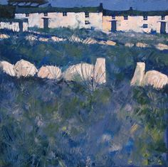 Cornish hedge by John Piper at the Lighthouse Gallery John Piper Artist, Cottage Art, Landscape Artwork, Royal College Of Art, Plein Air, Pretty Pictures, Pop Art, Street Art, British Artists