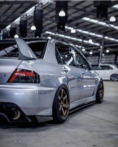 Evo society 😍😍😍😍😍😍😍 by Johnson Mitsubishi Lancer Evolution, Tuner Cars, Jdm Cars, Slammed Cars, Evo 8, Mitsubishi Cars, Japan Cars, Sweet Cars, Stance Nation