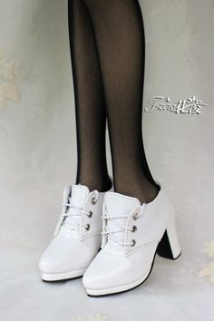 Ling on behalf of Friends of the [flower] SD16 / GR / ghost big girl / DD simple and ankle boots thick with 3-point female BJD shoes - Taobao