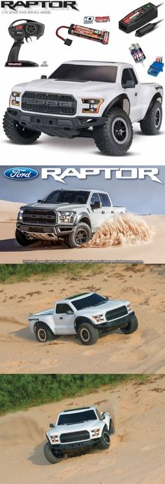 Cars Trucks and Motorcycles 182183: Traxxas 58094-1 2017 Ford F-150 Raptor Slash 2Wd 1 10 Truck White Rtr W Tq Id -> BUY IT NOW ONLY: $249.95 on eBay!