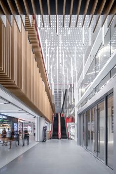 Shimao Festival City: Beyond Shopping Mall, Reconnecting Back To The City – Picture gallery – Nursery Room Furniture Shopping Mall Architecture, Shopping Mall Interior, School Architecture, Architecture Details, Mall Design, Lobby Design, Retail Design, Shoping Mall, Commercial Architecture