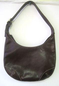 Fossil Handbag Baguette Purse Dark Purple Leather ZB8421 Bag Adjustable Strap | eBay #SOLD