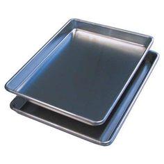 BroilKing-Quarter Size Commercial Aluminum Alloy Sheet Pans, Set of 2 -- For more information, visit : bakeware