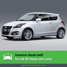 Depois de mais de uma década ele está de volta ao Brasil! Acesse nossa matéria e conheça o novo Suzuki Swift: https://www.consorciodeautomoveis.com.br/noticias/consorcio-suzuki-swift-em-ate-80-meses-sem-juros?idcampanha=206&utm_source=Pinterest&utm_medium=Perfil&utm_campaign=redessociais