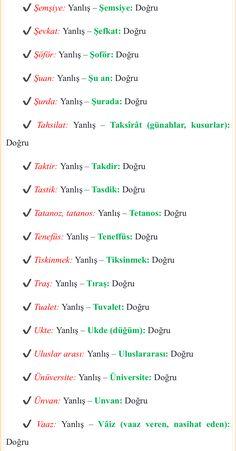 Turkce - Post Tutorial and Ideas Learn Turkish Language, Study Organization, English Tips, Exam Study, Study Motivation, Foreign Languages, Karma, Teaching, How To Plan