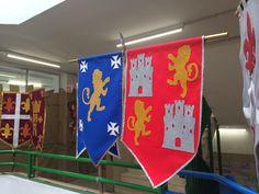 Nuestro cole hoy es un Castillo Medival Dragon Birthday Parties, Dragon Party, Castles Topic, Kindergarten Party, 2017 Decor, Medieval Crafts, Medieval Wedding, Medieval Castle, Knight Party